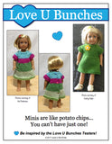 "Mini Dresses (for 6"" dolls such as American Girl Mini®)"