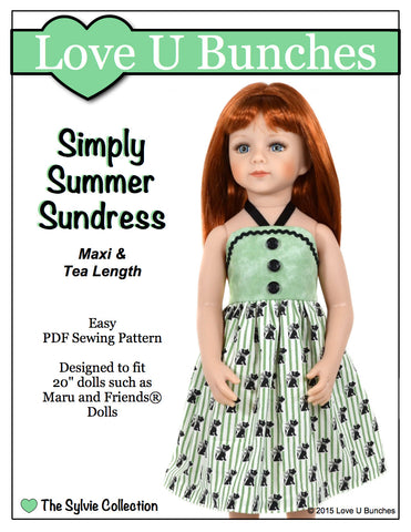 "Simply Summer Sundress (for 20"" dolls such as Maru and Friends®)"