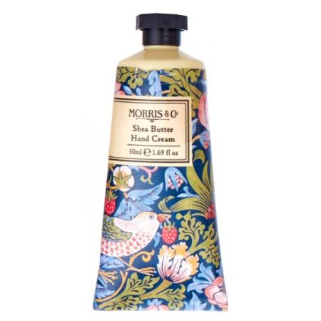 Morris & Co Strawberry Thief Blue 50ml Hand Cream