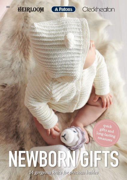 Newborn Gifts Knitting Book 368