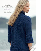 Knitting Pattern Aran Jacket