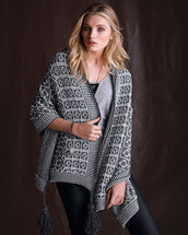 Knitting Pattern Mosaic Wrap