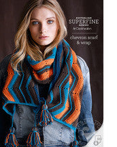 Crochet Pattern Chevron Scarf & Wrap