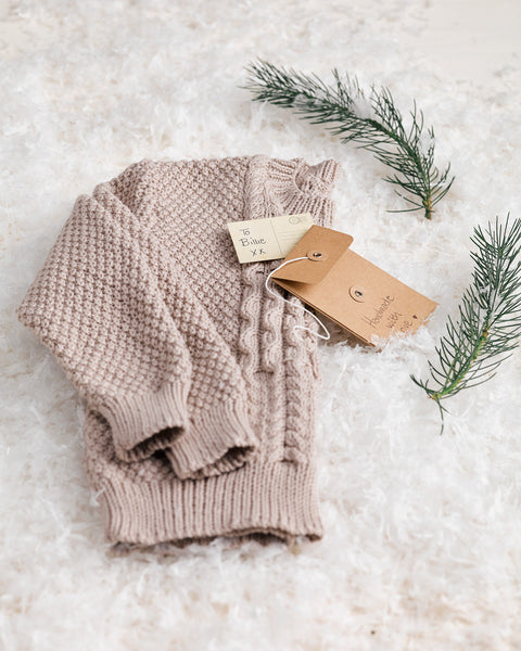 Knitting Pattern Aran Pullover