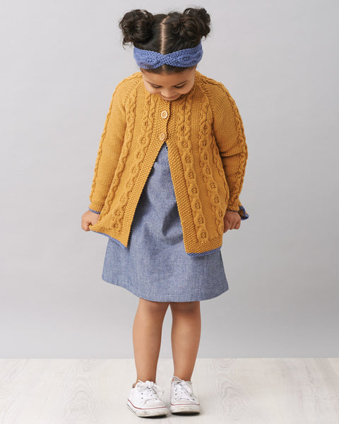 Knitting Pattern Swing Jacket & Headband