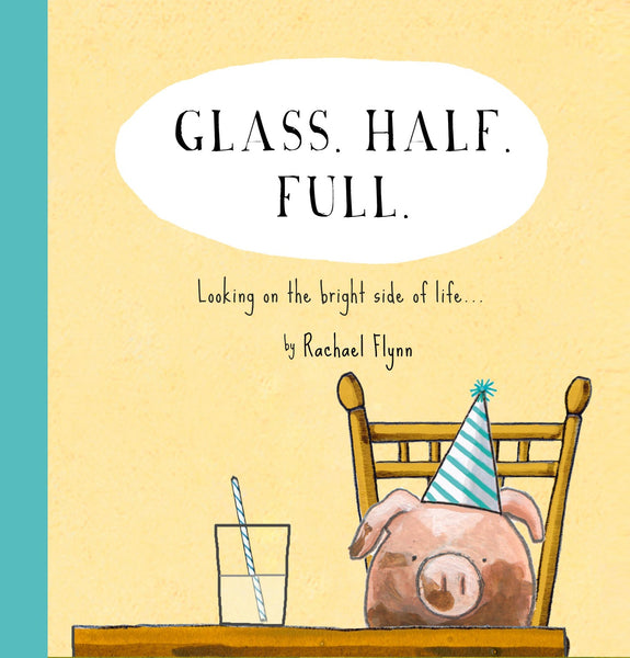 Red Tractor Quote Book - Glass Half Full