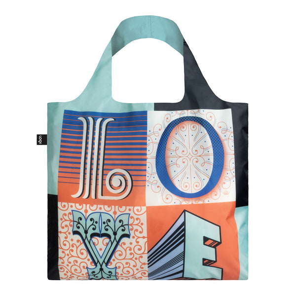 LOQI Shopping Bag - LOVE Martina Flor Collection