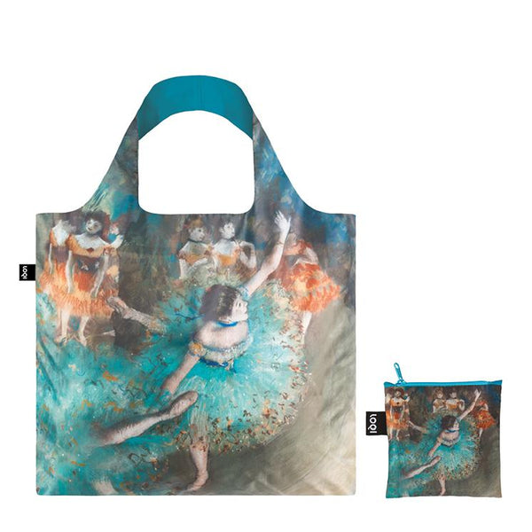 LOQI Shopping Bag Musuem Collection - EDGAR DEGAS Swaying Dancer (Dancer in Green), 1877-79 Bag