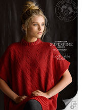 Knitting Pattern Mock Cable Tunic