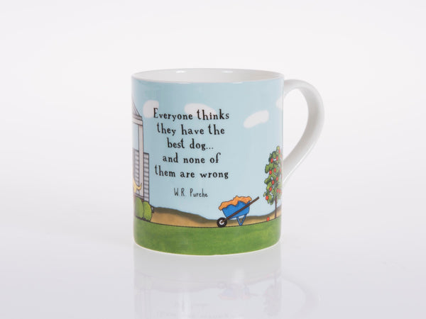 Red Tractor - Bone China Cup The Best Dog