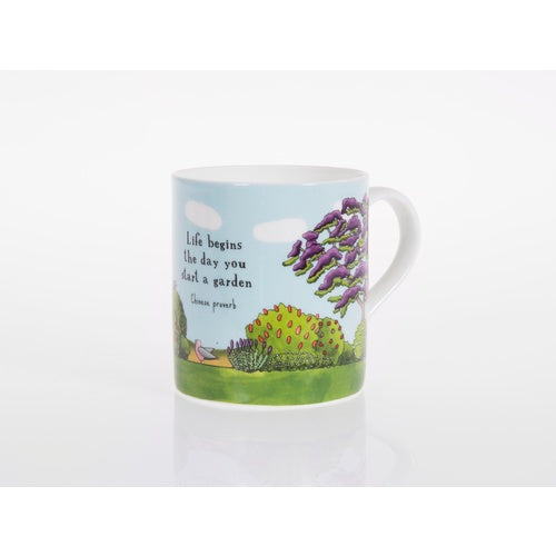 Red Tractor - Bone China Cup Jacaranda Garden