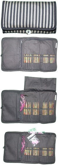 Knit Pro Symfonie Interchangeable Compact FINE Needle Set