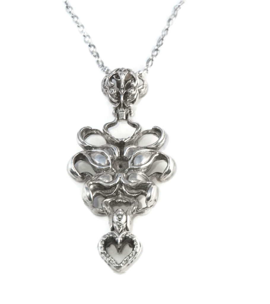Hearts and Flowers Pendant