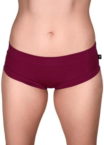 Essential Hot Pants - Merlot (XS)