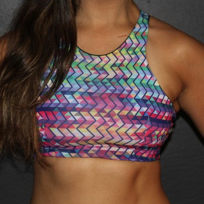 Chevron High Top Bra (S)