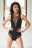 PREORDER - Midnight Bodysuit Black