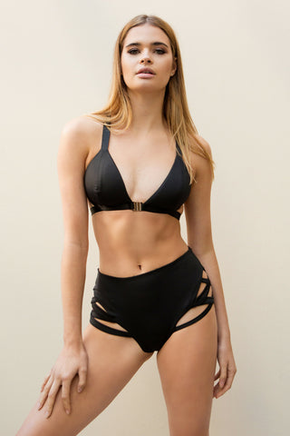 PREORDER - Follow Me Bra Black