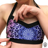 V Front Top - Glowing Mandala (S)
