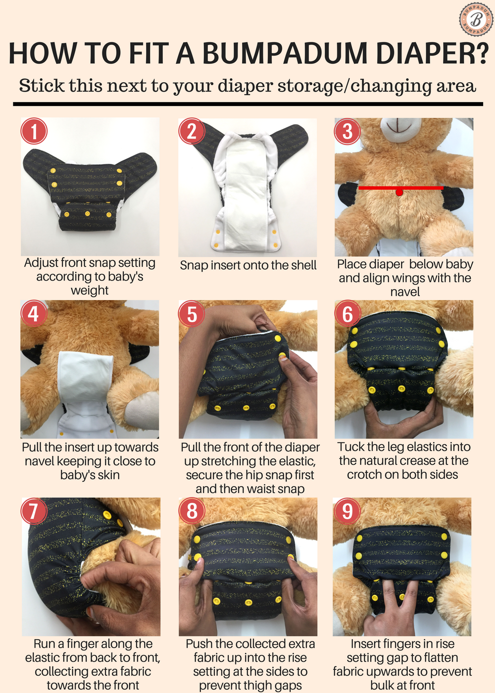 How to fit a Cloth Diaper?