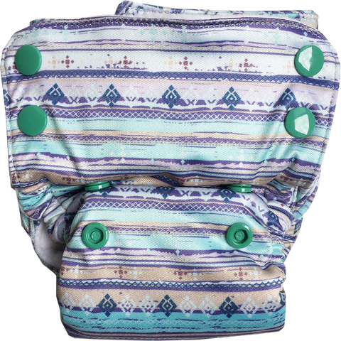 Aztec Neo v2 All-in-One Diaper - Bumpadum Cloth Diaper