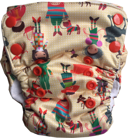 BFF Neo v2 All-in-One Diaper - Bumpadum Cloth Diaper