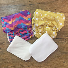 Basic Starter Pack (4 items) - Bumpadum Cloth Diaper