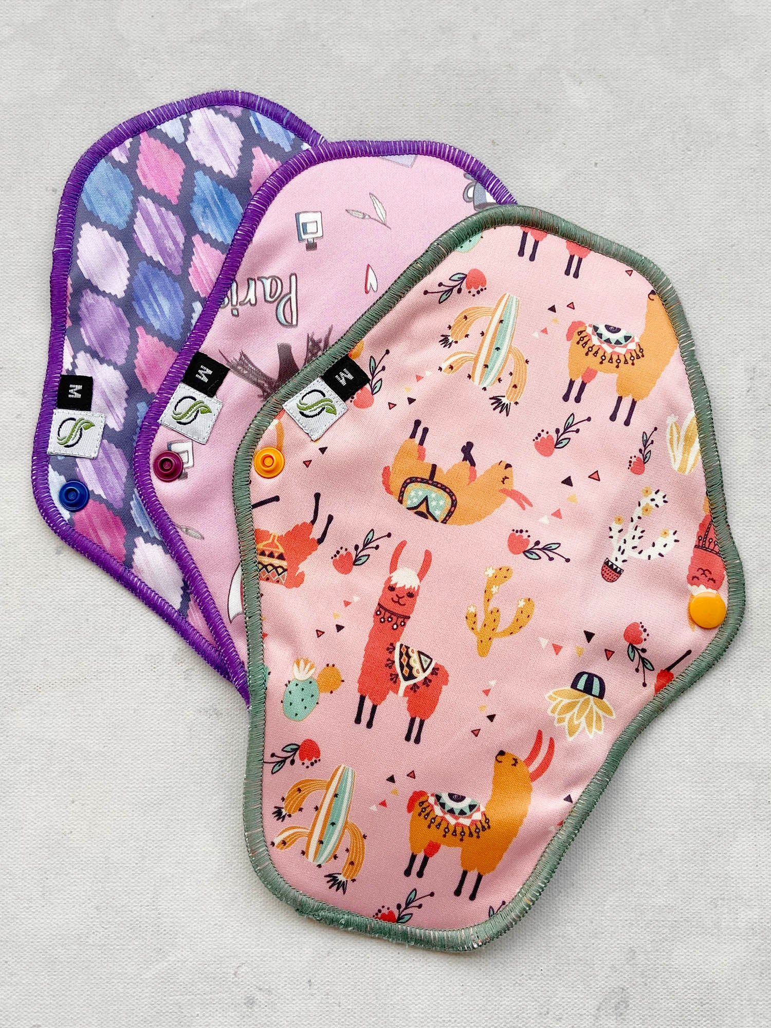 Cloth Sanitary Pads - Value Pack of 3