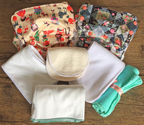 Duet-Aviva One-Size Starter Pack (7 items) - Bumpadum Cloth Diaper