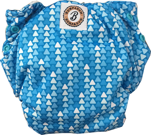 Fairy Lights Stay-Dry Duet Diaper - Bumpadum Cloth Diaper