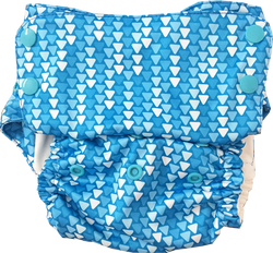 Fairy Lights Aviva Organic Cotton Diaper - Bumpadum Cloth Diaper