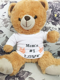 Mom's #1 Love T-shirt