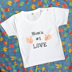 Load image into Gallery viewer, Mom's #1 Love T-shirt