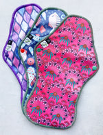 Load image into Gallery viewer, Cloth Sanitary Pads - Value Pack of 3