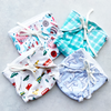 Happy Nappy - Pack of 4 (Size and Print options available)