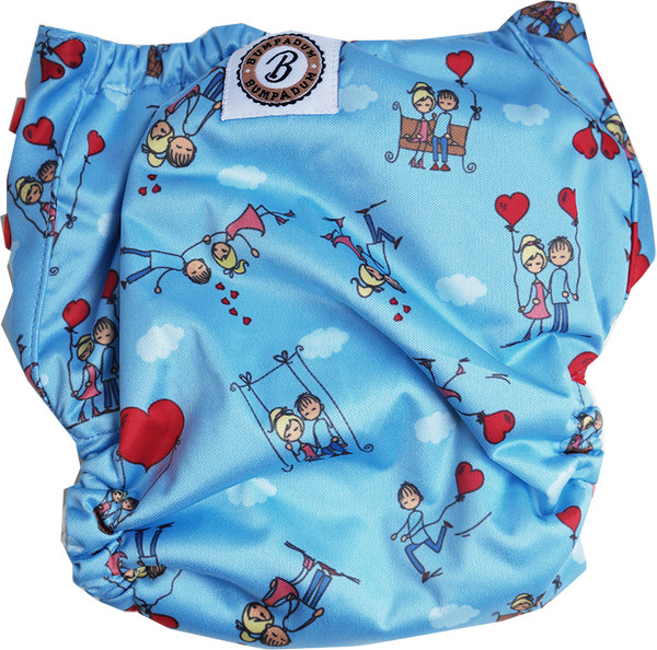 Ishq Wala Love Aviva Organic Cotton Diaper