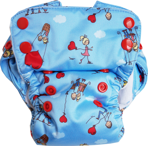 Ishq Wala Love Neo v2 All-in-One Diaper