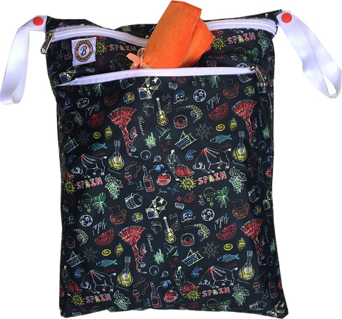 La Vida Wet Bag - Bumpadum Cloth Diaper