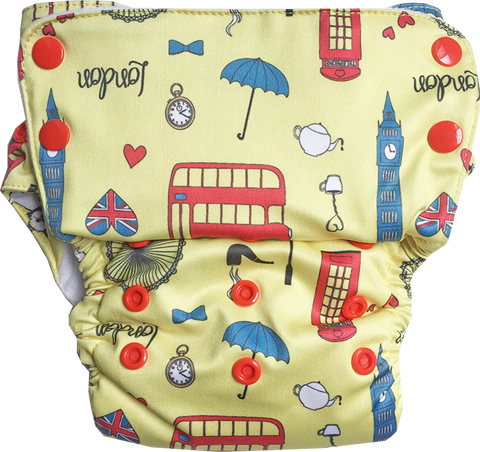 London Stay-Dry Duet Diaper - Bumpadum Cloth Diaper