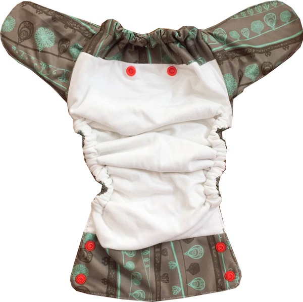 Rhapsody Aviva Organic Cotton Diaper - Bumpadum Cloth Diaper