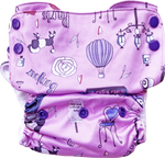 Load image into Gallery viewer, Paris Stay-Dry Duet Diaper