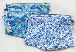Lisbon- Waterlily Reversible Clutch