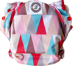 Rocketeer Stay-Dry Duet Diaper