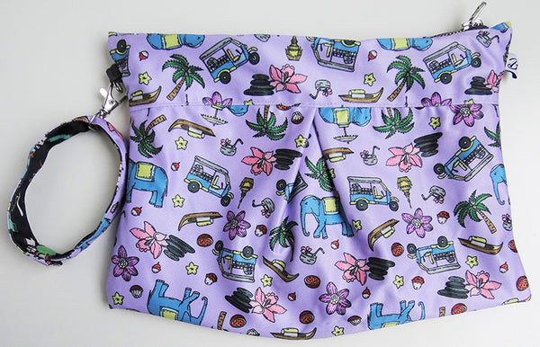 Sawatdee-Goodfellas Reversible Clutch - Bumpadum Cloth Diaper