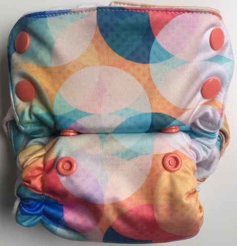 Shiny Disco Neo v2 All-in-One Diaper - Bumpadum Cloth Diaper