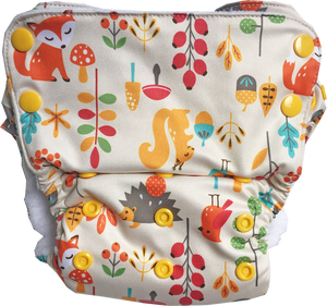 Duet Diaper Shell Only - Seconds (Multiple prints available)