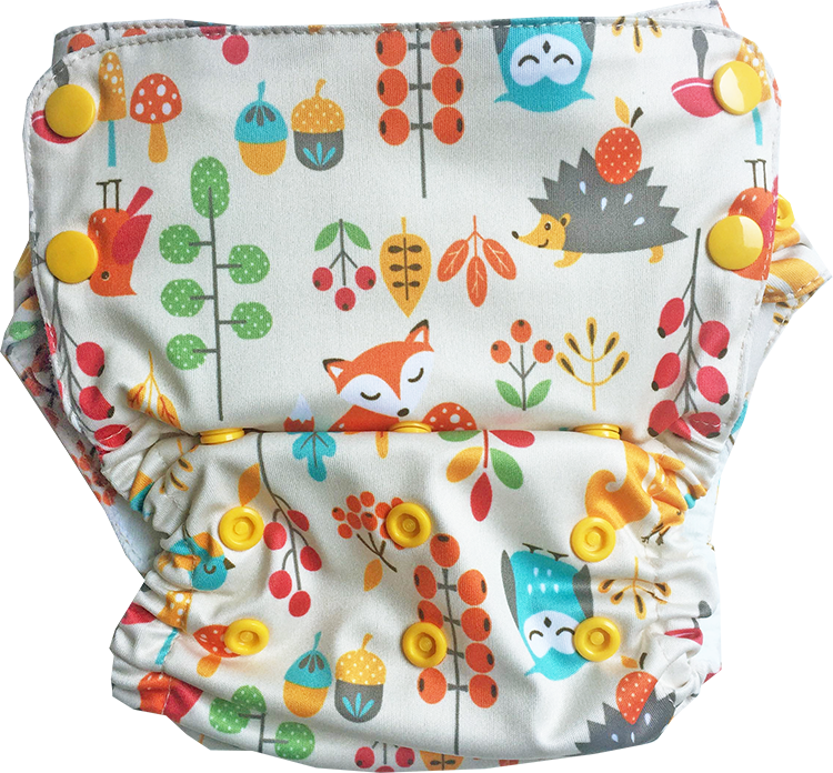 Aviva Diaper Shell Only Old Version - Clearance (Multiple prints available)