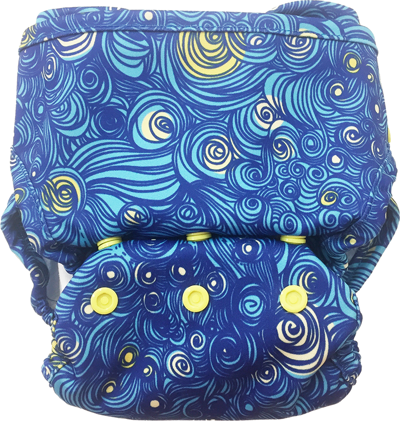 Cover Diaper Shell Only No Fleece Lining - Clearance (Multiple prints available)