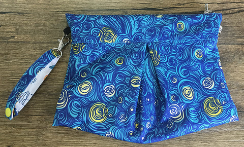 Starry Night - Amsterdam Reversible Clutch