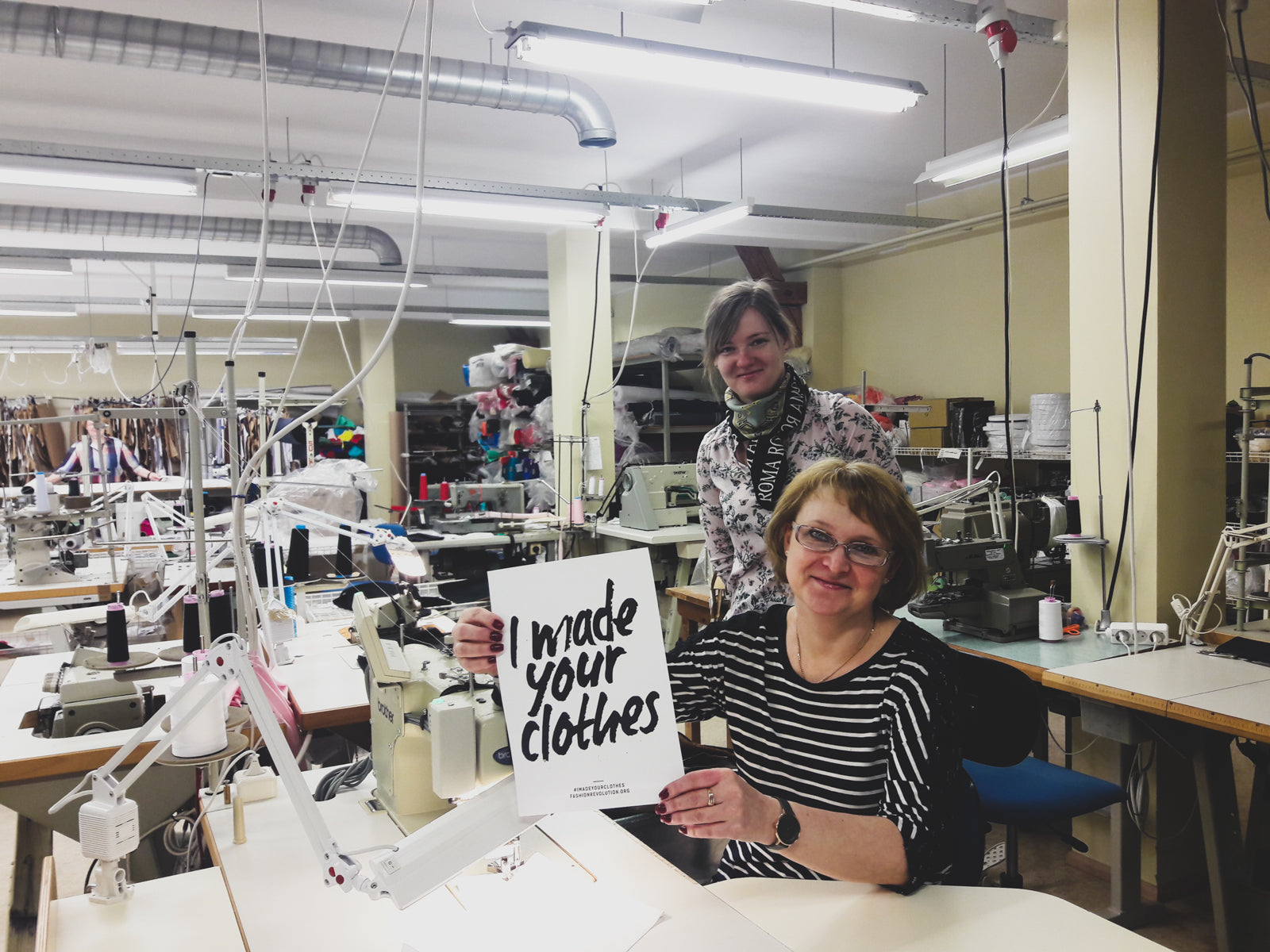 Fashion Revolution #whomademyclothes
