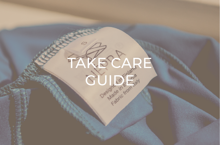 Népra Activewear Take Care Guide